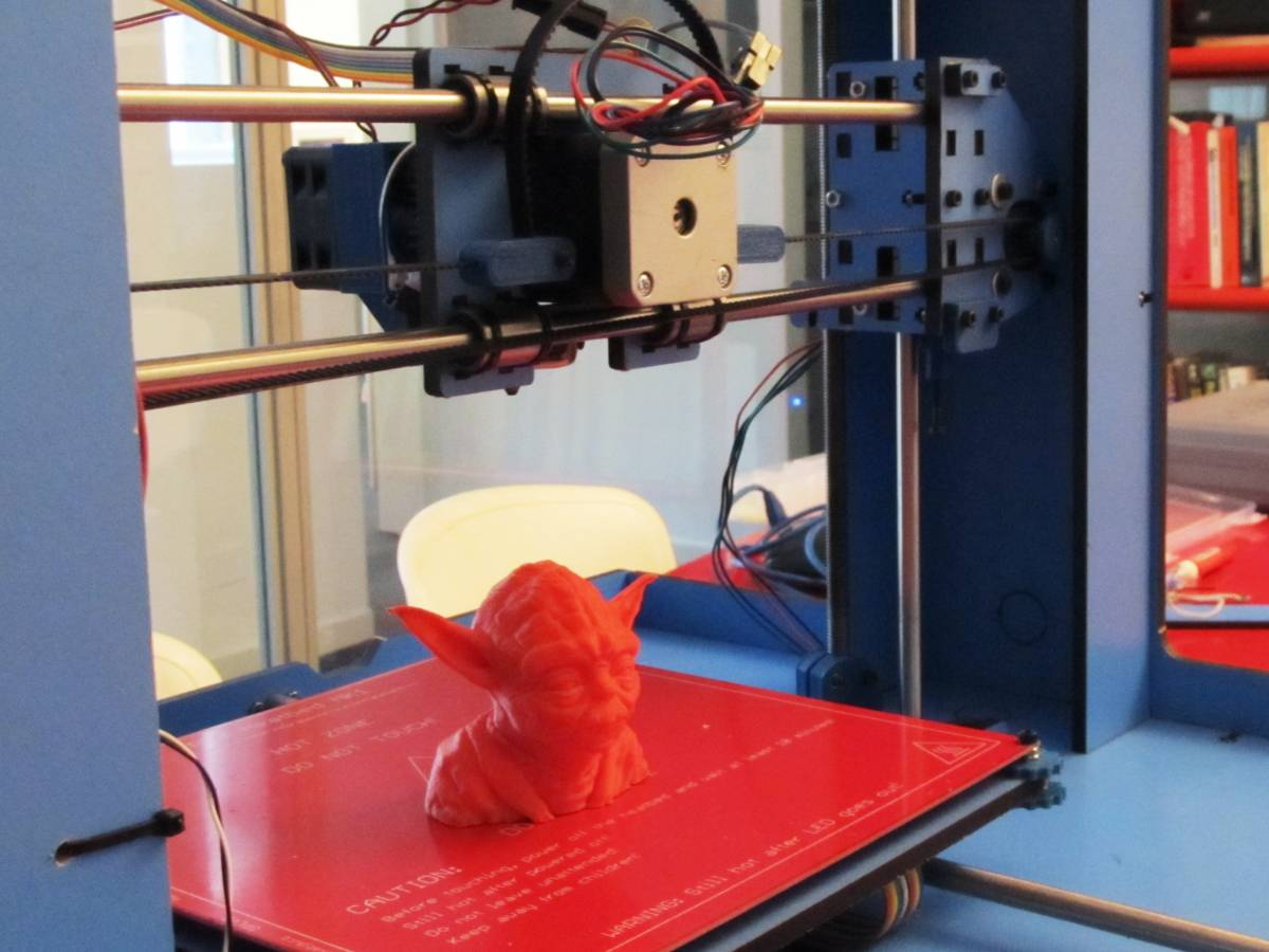 El sueño del pibe era tener una impresora 3D
