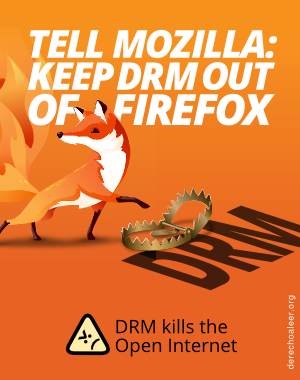 [mozilla drm out ifo]