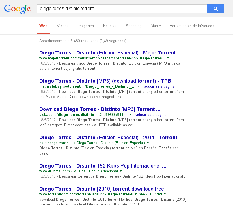 [Google Torrents]