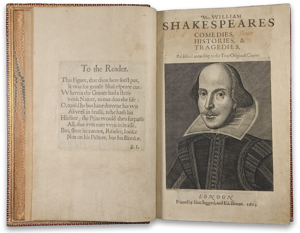 [Shakespeare book]